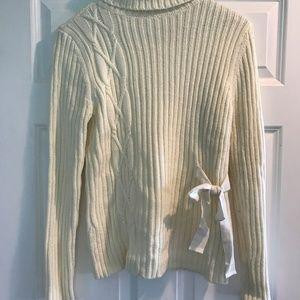 Tie Side Sweater by Sundance